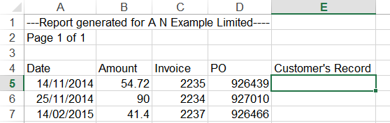 VLOOKUP to compare two columns 3
