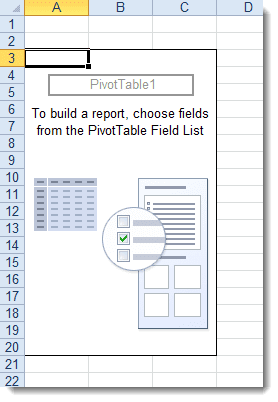 pivot table new layout
