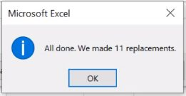 how do you remove spaces in excel cell