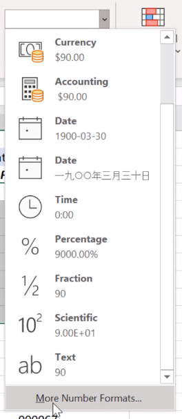 zero disappears from excel