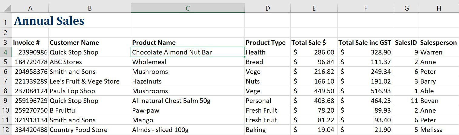 How to freeze rows in Excel